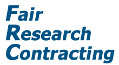 Fair Research Contracting Logo